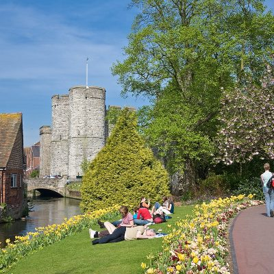 1200px River Stour in Canterbury England May 08